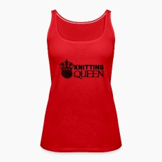 Knitting queen Tanks