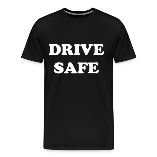 Apollo Nava Drive Safe Mens T-Shirt - Men's Premium T-Shirt