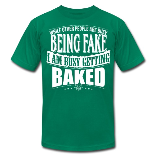 Getting Baked - T-Shirt - Men - Men's  Jersey T-Shirt