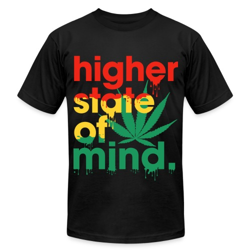 Higher State of Mind - T-Shirt - Men - Men's Fine Jersey T-Shirt