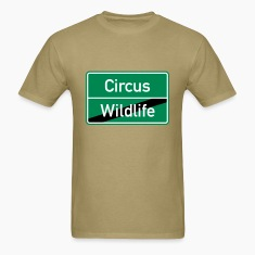 Wildlife Circus Stag Party City Sign T-Shirts