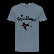 T-Shirts ~ Men's Premium T-Shirt ~ Poz Swallows Men's Premium Tee