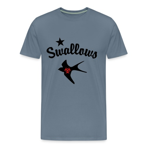 Poz Swallows Men's Premium Tee  - Men's Premium T-Shirt