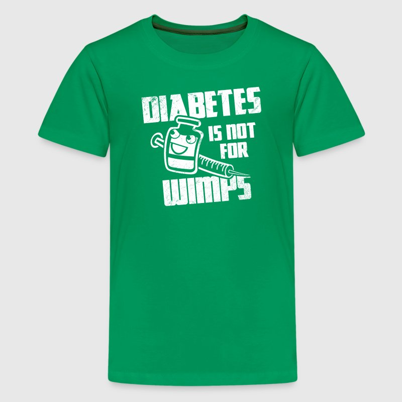Diabetes Is Not For Wimps Kids Shirts T Shirt Spreadshirt