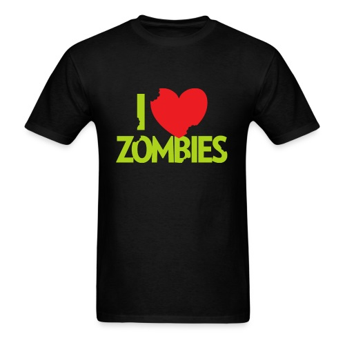 I Heart Zombies - Men's T-Shirt
