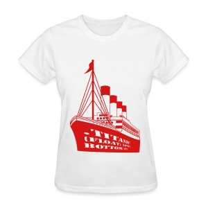 Titanic in CSS - Women's T-Shirt