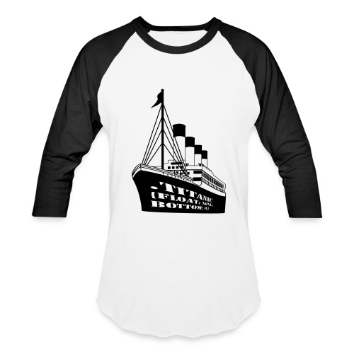 Titanic in CSS - Baseball T-Shirt