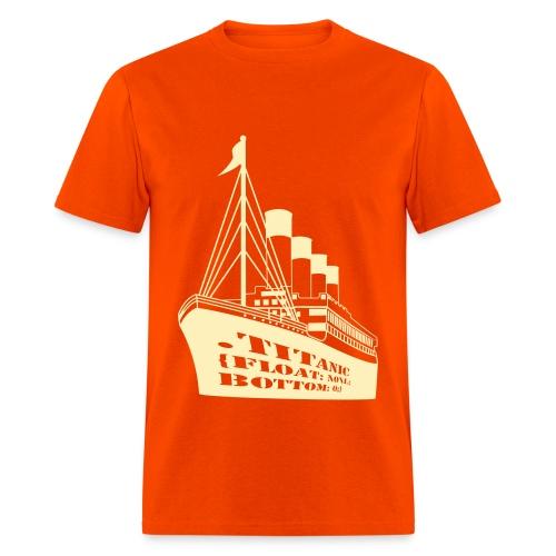 Titanic in CSS - Men's T-Shirt