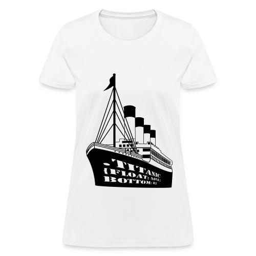 Titanic in CSS - Women's T-Shirt