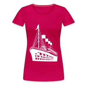 Titanic in CSS - Women's Premium T-Shirt