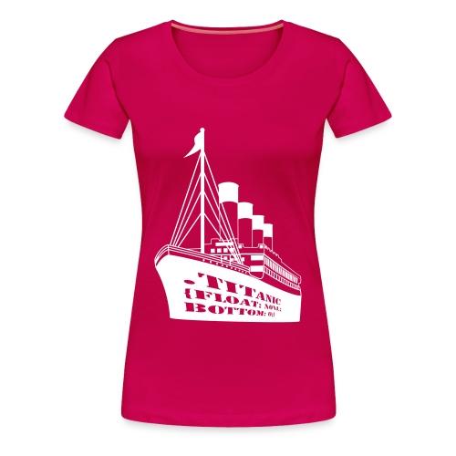 Titanic in CSS - Women's Premium T-Shirt