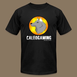CaleoGaming Shirt with Logo - Men's Fine Jersey T-Shirt