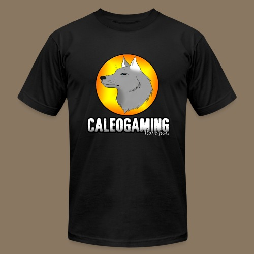 CaleoGaming Shirt with Logo - Men's  Jersey T-Shirt