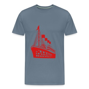 Titanic in CSS - Men's Premium T-Shirt