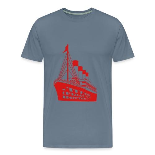 Titanic in CSS - Men's Premium T-Shirt