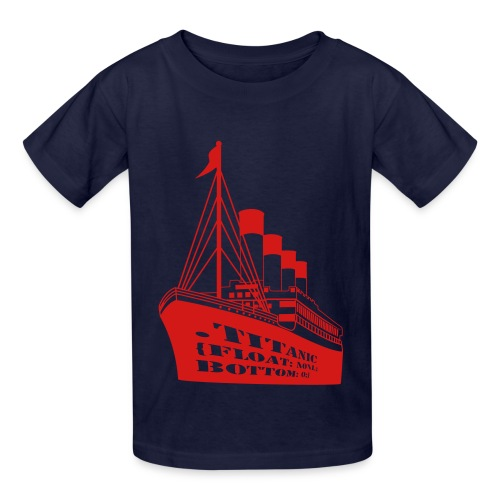 Titanic in CSS - Kids' T-Shirt