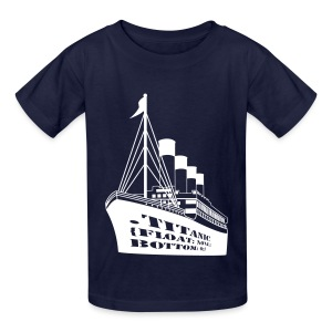 Titanic in CSS - Kids' T-Shirt