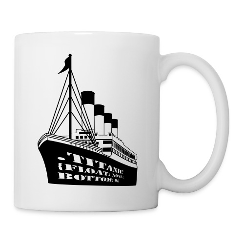 Titanic in CSS - Coffee/Tea Mug