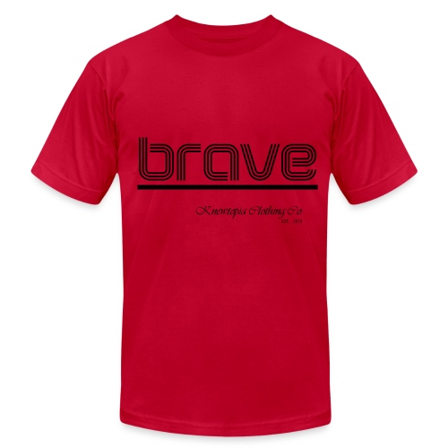 BRAVE - Men's Fine Jersey T-Shirt