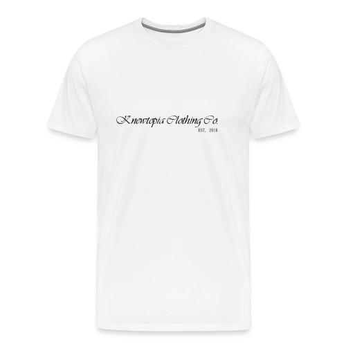 THE 101 BLACK LETTER EDITION - Men's Premium T-Shirt