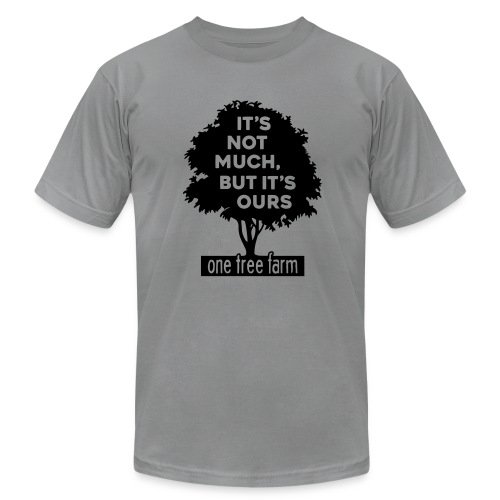 One Tree Farm American Apparel Tee - Men's T-Shirt by American Apparel