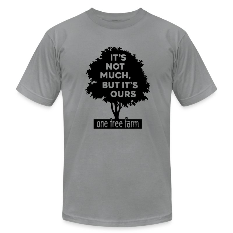 One Tree Farm American Apparel Tee - Men's Fine Jersey T-Shirt