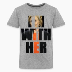 I'm With Her Hillary Kids' Shirts