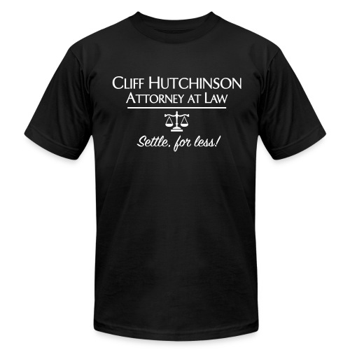 Cliff Hutchinson American Apparel Tee - Men's T-Shirt by American Apparel