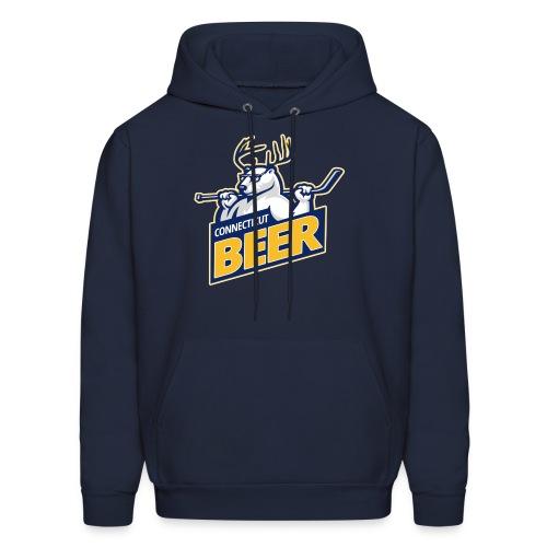 CT Beer CUSTOM SLEEVE NUMBERS Team Hoodie - Men's Hoodie