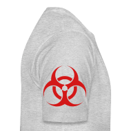 T-Shirts ~ Men's Premium T-Shirt ~ Biohazard (on Right sleeve)   Men's Premium Tee