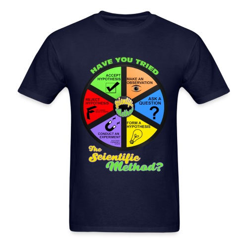 Scientific Method  - Men's T-Shirt