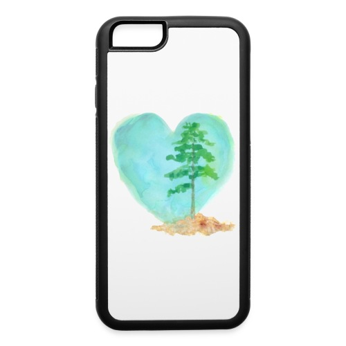 Longleaf Heart phone case - iPhone 6/6s Rubber Case