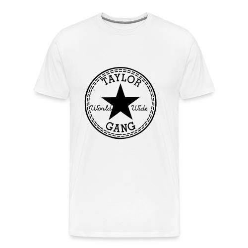 Taylor Gang (White/Black) - Men's Premium T-Shirt