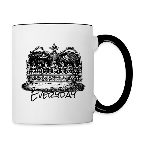Everyday King - Contrast Coffee Mug