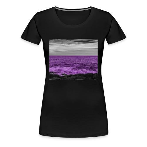 Women's Codeine Ocean T-shirt - Women's Premium T-Shirt