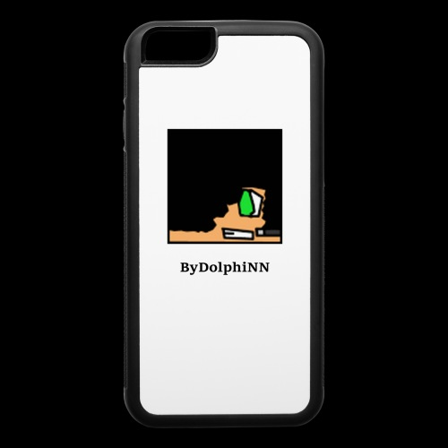 ByDolphiNN logo Iphone 6/6s case - iPhone 6/6s Rubber Case