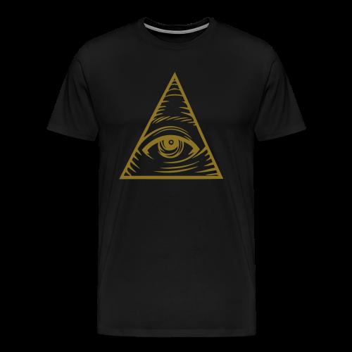 Gold Eye - Men's Premium T-Shirt