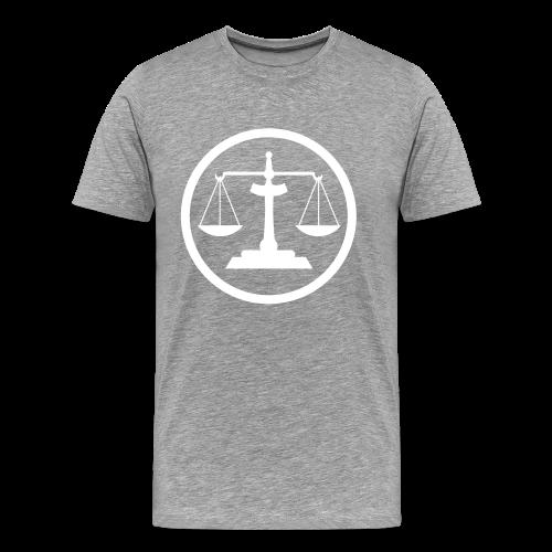 Scales of Justice - Men's Premium T-Shirt