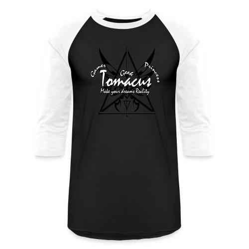 Tomacus print baseball Tee - Baseball T-Shirt