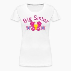 Big Sister Butterfly Shirts