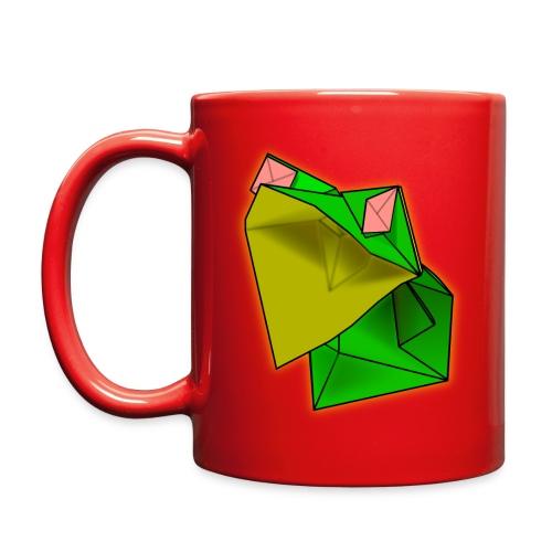 Red Origami Frog Coffe Mug - Full Color Mug