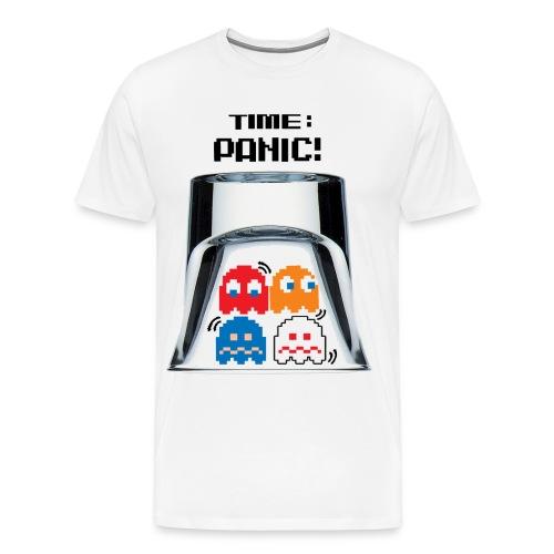 Panic Wht - Men's Premium T-Shirt