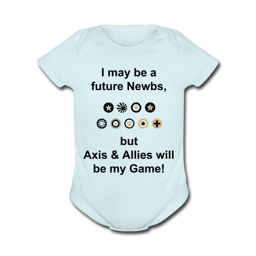 Axis & Allies Baby One Piece - Short Sleeve Baby Bodysuit