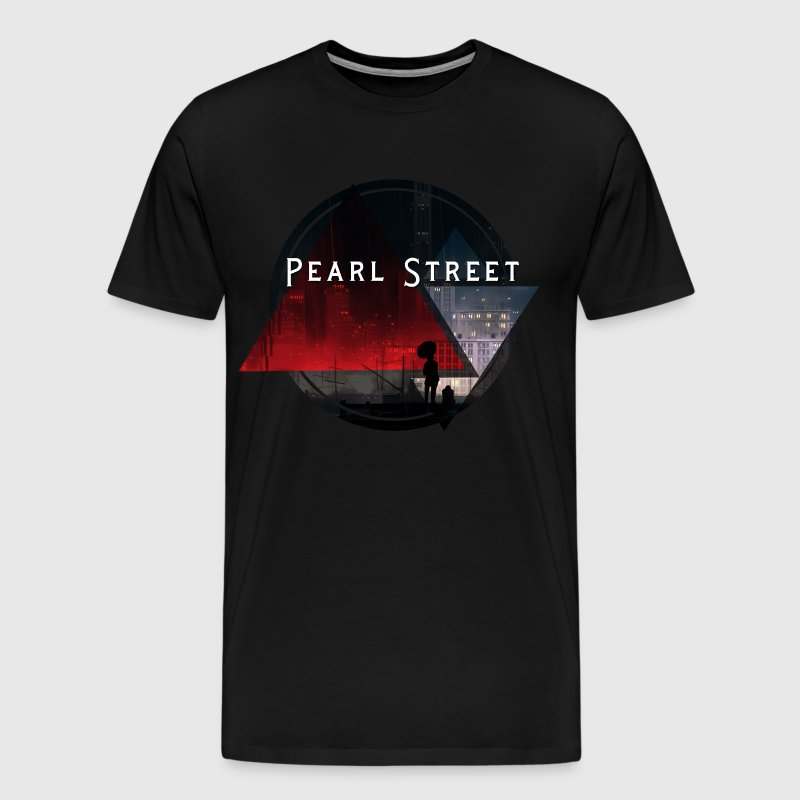 pearl street t shirt men 39 s premium t shirt. Black Bedroom Furniture Sets. Home Design Ideas