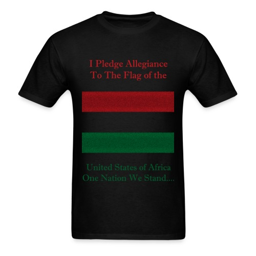 Pledge tee - Men's T-Shirt
