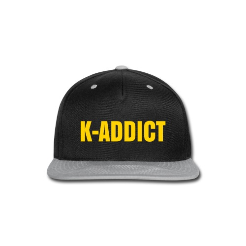 K-ADDICT - Snap-back Baseball Cap
