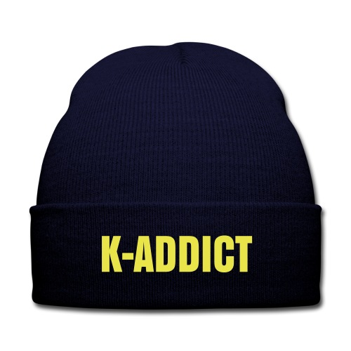 K-ADDICT - Knit Cap with Cuff Print