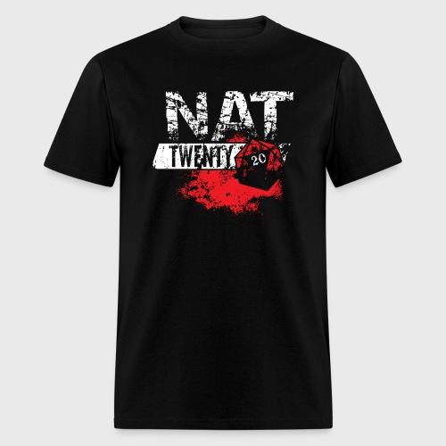 Dungeons & Dragons NAT TWENTY RPG - Men's T-Shirt