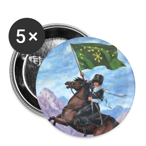 Circassian flag - Small Buttons