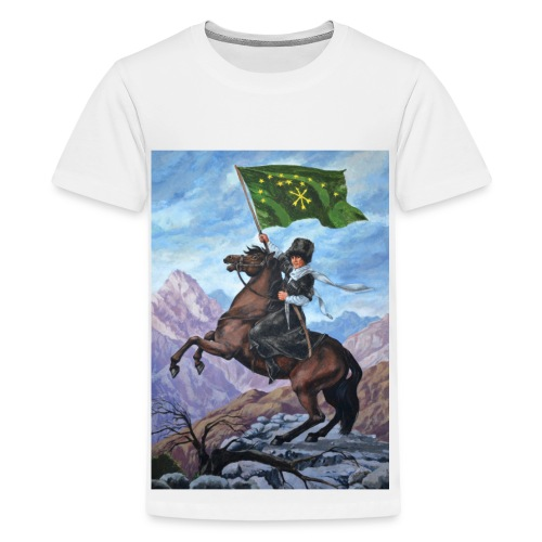 Circassian flag - Kids' Premium T-Shirt
